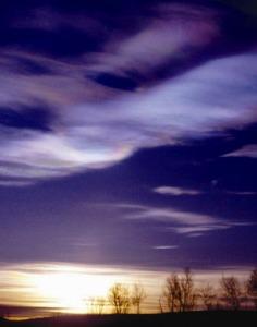 Photo du ciel et des nuages