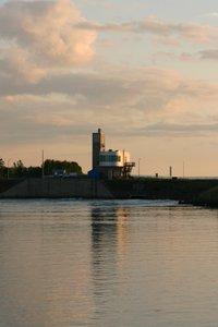 Photo d'une centrale marémotrice
