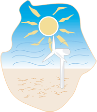 Soleil et vent