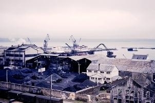 Photo d'une usine à chabon