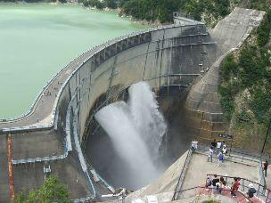 Photo d'une centrale hydroélectrique