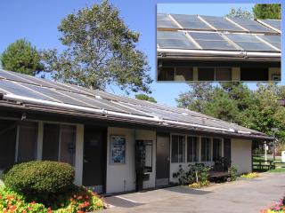 Laverie fonctionnant à l'énergie solaire