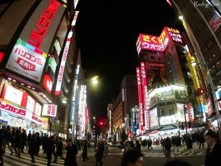 Ville du Japon éclairée (Shinjuku)
